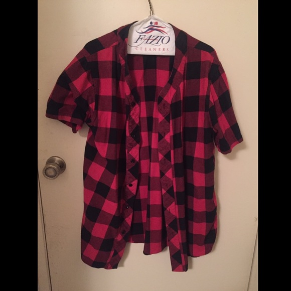 Forever 21 Other - A red button up shirt :)